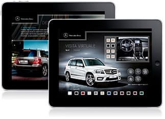 iPad App - Mercedes-Benz GLK